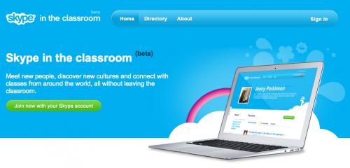 Skype im Klassenzimmer / Skype in the classroom